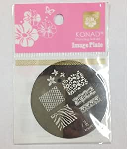 Konad - Stamping Nail Art Image Plate - Modèle Pochoirs pour Ongles - M57