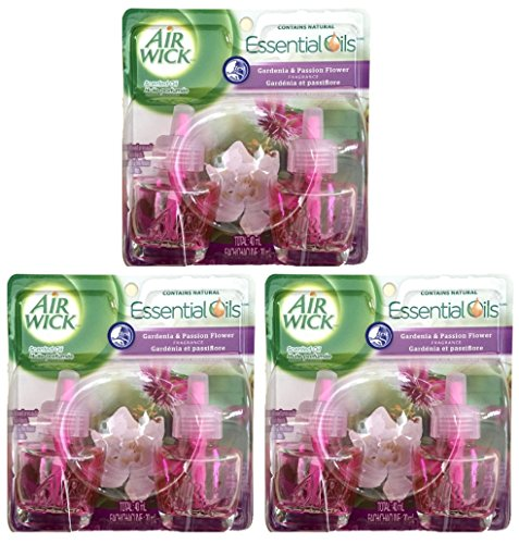 Air Wick Scented Oil National Park Limited Edition Collection, Air Freshener, 2 Refills (Pack of 3) (Gardenia & Passion Flower) (Gardenia Air Freshener compare prices)