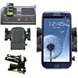Mobilizers: In Car Air Vent Mount Holder Cradle Kit For All New Models Including Samsung Galaxy 3 Apollo i5800, Galaxy Ace S5830, Galaxy Ace 2, Galaxy Europa i5500, Galaxy S I9000, Galaxy S2 SII I9100, Galaxy S3 SIII I9300, Galaxy S Advance, Galaxy Mini