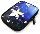 Emartbuy® Stars Water Resistant Neoprene Soft Zip Case Cover Sleeve suitable for Amazon New Kindle with Touch October 2014 6