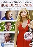 How Do You Know [DVD] [2011]