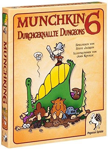 pegasus-spiele-17216g-munchkin-6-durchgeknallte-dungeons-2011-edition