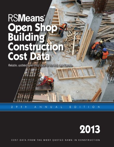 RSMeans Open Shop Construction Cost Data 2013 (Rsmeans Open Shop Bccd) - RS Means - RS-OpenShop - ISBN: 1936335697 - ISBN-13: 9781936335695