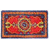 Latch Hook Rug Kit - Traditional Rug - all materials included in the kit