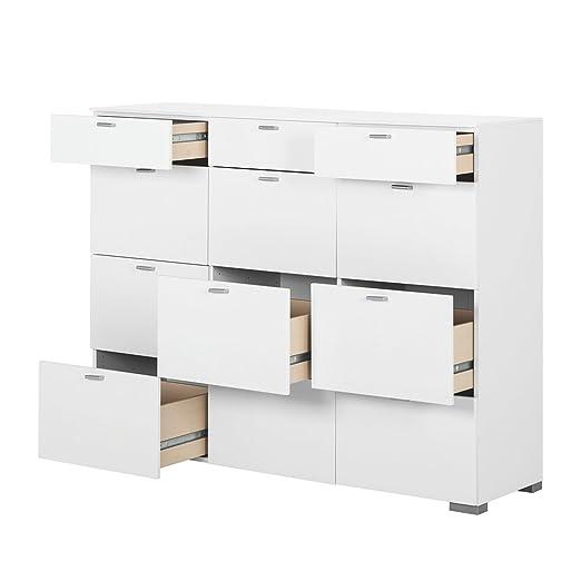 arte m highboard gallery mit 12 schubk sten farbe dee511. Black Bedroom Furniture Sets. Home Design Ideas