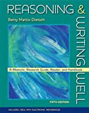 img - for Reasoning and Writing Well by Betty Mattix Dietsch (2008-07-18) book / textbook / text book