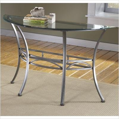 Image of Abbington Console Table- Glass Top (4885--873)