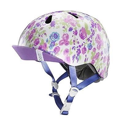 Bern Nina Girls Bike Helmet Satin White Floral VJGSWFV XS Small from Bern