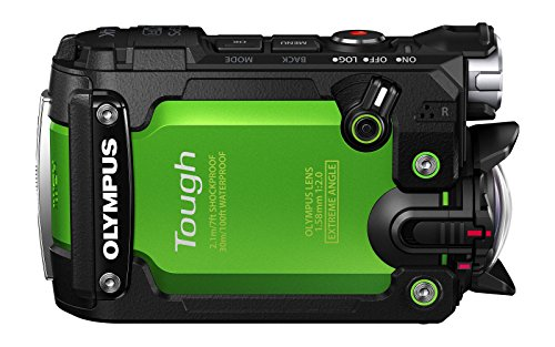 OLYMPUS アクションカメラ STYLUS TG-Tracker グリーン 防水性能30m 耐衝撃2.1m 耐荷重100kgf 防塵 耐低温-10℃の商品画像