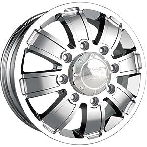 Ion Alloy Dually 166 Chrome Wheel (17×6.5″/8x200mm)