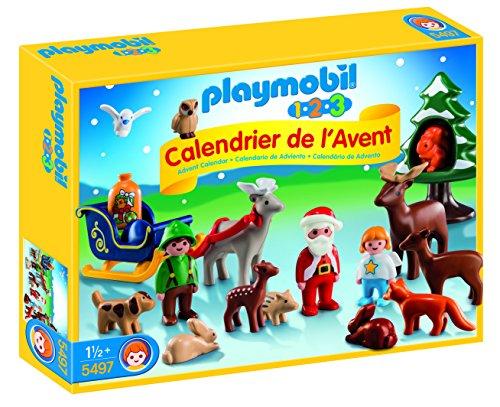 """Playmobil Calendario de Adviento - Pack """"Navidad en el Bosque"""" (5497)"""