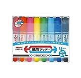 ゼブラ 水性ペン 紙用マッキー 15色 WYT5-15C