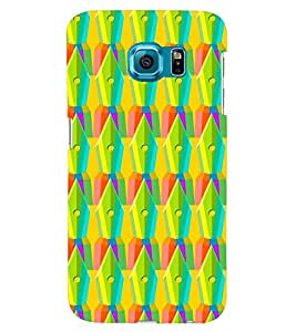 printtech Pen Pattern Back Case Cover for Samsung Galaxy S6::Samsung Galaxy S6 G920