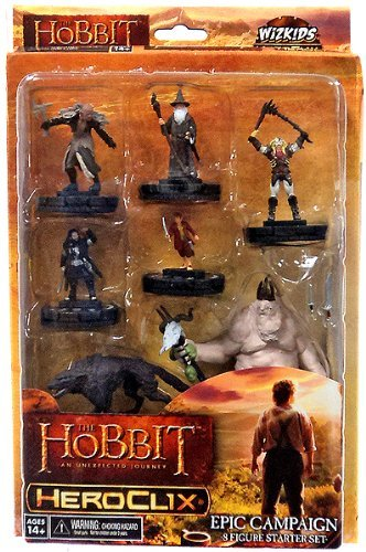Neca Wizkids HeroClix - The Hobbit: UJ An Unexpected Journey - Epic Campaign Starter Set (Heroclix Lord Of The Rings compare prices)