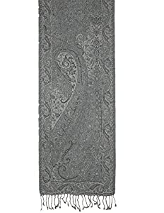 Indian Dress Neck Scarf Men Accessories Wool Paisley Design Gifts For Dad