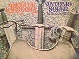 img - for ALICIA DE LARROCHA PLAYS: ANTONIO SOLER 8 PIANO SONATAS- vinyl lp. book / textbook / text book