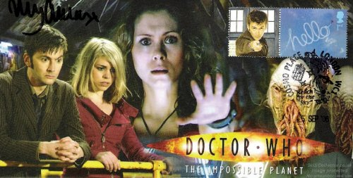 """Doctor Who-The Planet Impossible"" firmato MyAnna Buring"