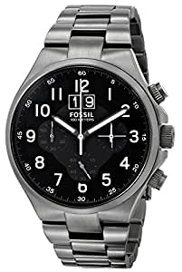 Fossil Men's CH2905 Qualifier Smoke-Tone Stainless Steel Watch