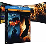 The Dark Knight, le chevalier noir - Batman Begins : coffret 2 Blu-ray [Blu-ray]par Christian Bale