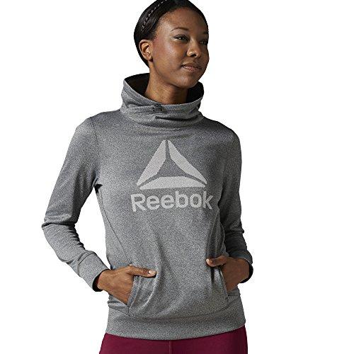 Reebok - RE BRA P1 Felpa - Donna - Grigio  - S