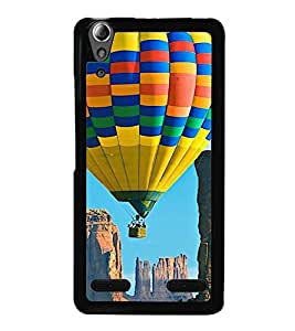 printtech Hot Air Balloon Colored Back Case Cover for Lenovo A6000 Plus