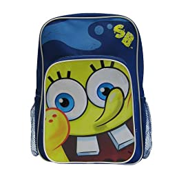 "Product Image Kid's Sponge Bob 16"" Backpack with Pencil Case - Blue"
