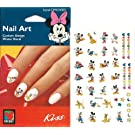 Disney Mickey Mouse, Minnie, Daisy & Donald Duck, Goofy, Pluto Fab Five Licensed Nail Art Decals