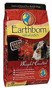 Wells Pet Food Earthborn Holistic Natural Food for Pet Weight Control, 14-Pound Bag