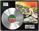 Led Zeppelin House Of The Holy Platinum Lp Signature Display C3