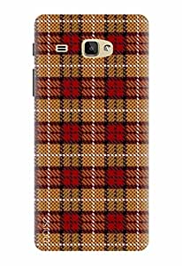 Noise Designer Printed Case / Cover for Samsung Galaxy J Max / Patterns & Ethnic / Check Design