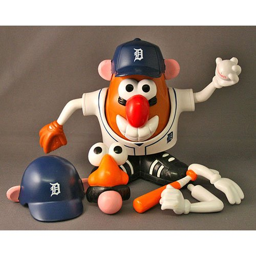 Buy Low Price Promotional Partners Worldwide MLB Detroit Tigers Mr. Potato Head Figure (B000PE3BXY)