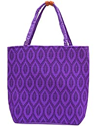 ANICKS Women Shopping/Travel/ Shoulder Bag(Violet)