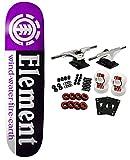 ELEMENT Skateboard Complete VARIED SECTION 8.0 PURPLE