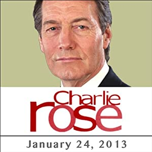 Charlie Rose: Zeid Bin Ra'ad, Efraim Halevy, and Clarissa Ward, January 24, 2013 | [Charlie Rose]