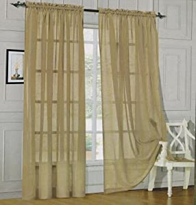 5 Piece Window Curtain Sets 120 Inch Wide Curtain Panels