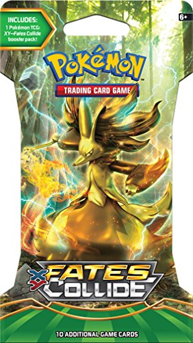 Pokemon 13710-S Number 10 Fates Collide Booster Packet – Juego de cartas