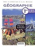 echange, troc Jean-Louis Mathieu, Collectif - Géographie, 1ère, L/ ES