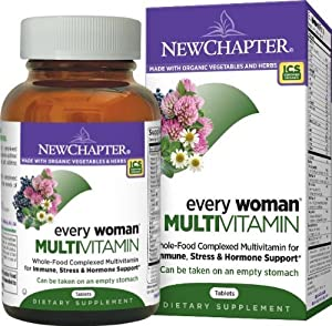 New Chapter Every Woman Multivitamin, 120 Tablets (Pack of 3 (120 ct ea))