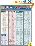 Italian Vocabulary (Quickstudy: Academic)