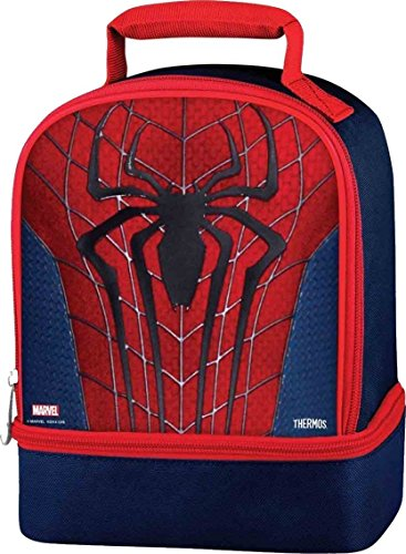 Thermos Dual Lunch Kit - Spiderman