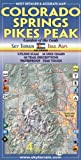 Colorado Springs & Pikes Peak Trail Map 4th Edition