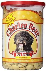 Charlee Bear Dog Treat, 17-Ounce, Liver