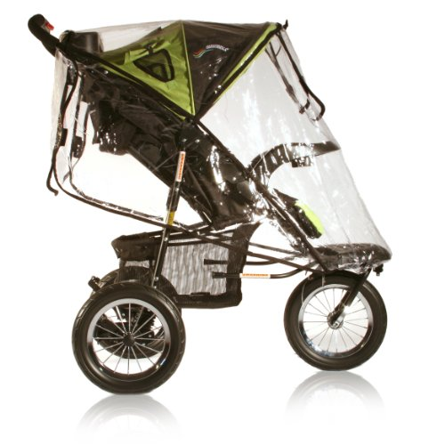 Go Go Babyz Urban Advantage Rain Cover for Stroller, Clear