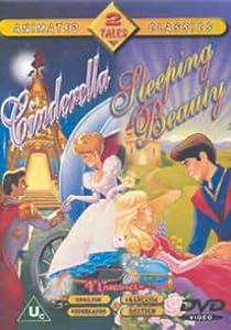 cinderella sleeping beauty not disney dvd amazon co uk