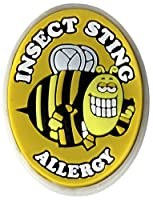 AllerMates Insect Sting Allergy Charm for Multi-Allergy Wristband: Bizzzy by Awearables, Inc.
