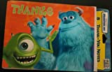 Disney Pixar Monsters Inc Party Supplies Thank You Notes - 8ct