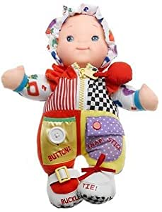 Zip-ity Do Dolly Learn Doll with 7 Learning Activities - Romper
