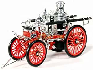 1886 American Lafrance Silsby-manning Steam Fire Engine. National Motor Museum