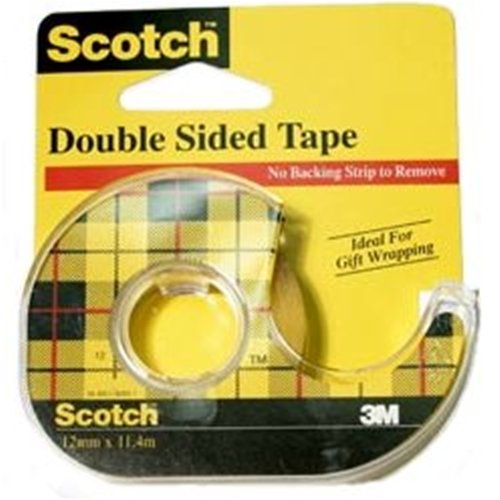 Scotch Double-Sided Tape, Dispensered Roll 12.7mm x 11.4m - 1 roll