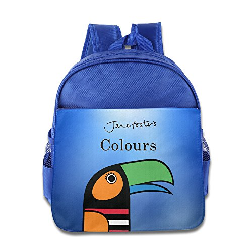 Good Gift Kid's Bags - Fashion Jane Foster's Colors Children Backpack Schoolbag Shoulder Bags RoyalBlue